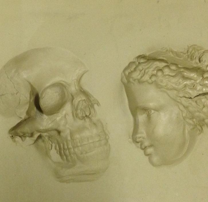 Der Tod und das Mädchen aus der Werkstatt von Friedrich Howanietz